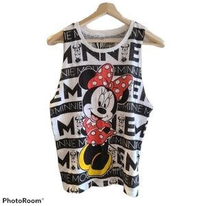 NWOT- Minnie Mouse tank top - Large
